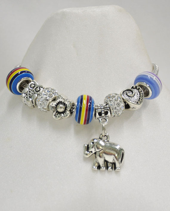 bracciale pandora elefante