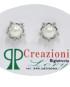 Orecchini con Perle bianche e zirconi