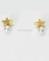orecchini_stella_dorata_perla