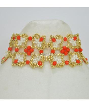 bracciale_fascia_tess_swa_arancio
