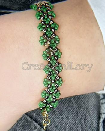 bracciale_lav_perline_verde